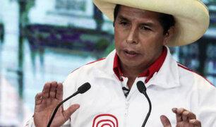 Perú Libre pide garantía constitucional frente al conteo de votos