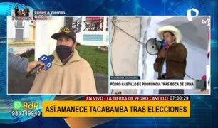 Pedro Castillo llegaría a Lima en las próximas horas para esperar resultados oficiales de la ONPE