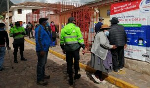 Cusco: más de 90 requisitoriados fueron detenidos cuando emitían su voto