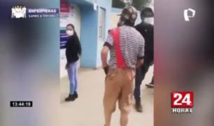 """Joven acudió a votar como """"El Chavo del 8"""" en Cajamarca"""