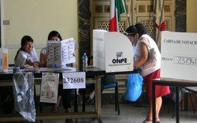 Voto en el extranjero: Keiko Fujimori lidera conteo de votos al 24.564 % de las actas procesadas