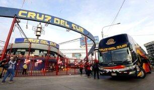 Cruz del Sur suspendió viajes ante incertidumbre que genera proceso electoral