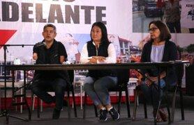 Elecciones 2021: Fuerza Popular asegura que lucharán hasta el último voto