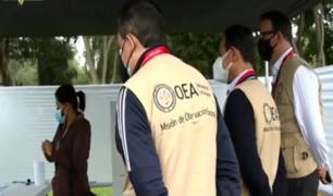 Misión electoral de la OEA felicitó a Perú por la jornada electoral del domingo