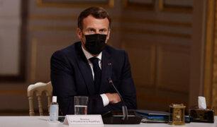 VIDEO: sujeto abofeteó a presidente de Francia aprovechando descuido de guardaespaldas