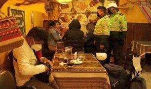 Huancayo: intervienen a secretario de Perú Libre por desacato a medidas sanitarias