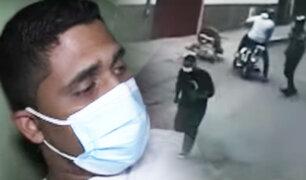 Sujeto es baleado por no dejarse robar el celular en Chorrillos