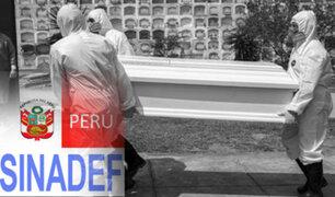 Sinadef: Exceso de fallecidos por todas las causas ha disminuido casi al 50%