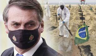Bolsonaro quiere investigar a gobernadores por muertes por coronavirus en Brasil