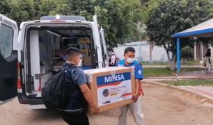 Más de 600.000 vacunas contra la COVID-19 fueron enviadas a las regiones del país