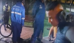 Serenos evitan que sujeto abuse sexualmente de una mujer en el Cercado de Lima