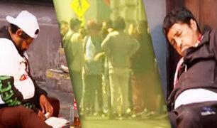 Seguidores de Perú Libre beben licor en las calles en pleno toque de queda