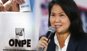 Fuerza Popular denunció 65 casos de miembros de mesa que serían familiares