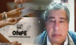 """Aníbal Quiroga sobre nulidad de 802 mesas: """"es un acto legítimo de derecho de defensa"""""""
