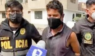 San Juan de Lurigancho: extranjero apuñala a 4 personas y lo capturan