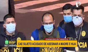 Feminicidio en Tarapoto: así fue la detención del acusado de asesinar a su hija y expareja