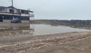 La Libertad: fuerte oleaje en litoral de Trujillo afecta calles de asentamientos humanos