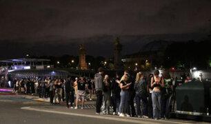 Covid-19: policía francesa dispersa a cientos de jóvenes  que participaban en una fiesta