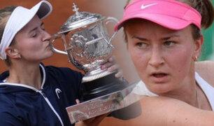 Barbora Krejcikova es la nueva reina del Roland Garros