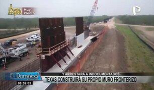 Texas construirá su propio muro fronterizo y arrestará a inmigrantes ilegales