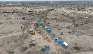 Lambayeque: más de 800 invasores fueron desalojados del Santuario Histórico Bosque de Pómac