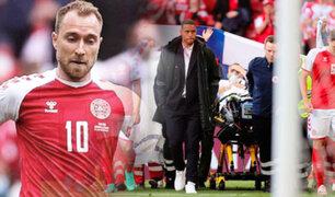 "Christian Eriksen tras sufrir paro cardiaco durante partido ""estuvo muerto dos minutos"", dice médico"