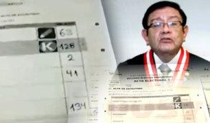 Dudas sin resolver: actas electorales se han convertido en blanco de cuestionamientos