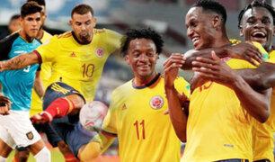 Copa América 2021: Colombia se estrenó con triunfo ante Ecuador