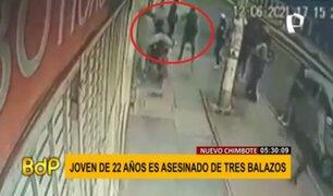 Nuevo Chimbote: joven de 22 años fue asesinado a balazos en plena vía pública