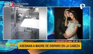 Cercado de Lima: Asesinan a joven madre de un disparo en la cabeza