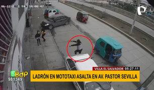 VES: delincuentes asaltan al paso en mototaxis sin placas ni distintivos