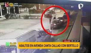 Inseguridad en el Callao: roban autopartes, negocios y hasta a los transeúntes