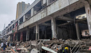 Tragedia en China: 12 muertos y 150 heridos deja explosión de tubería de gas