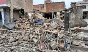 Chiclayo: cuatro heridos y daños materiales deja explosión dentro de vivienda