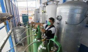 Covid-19: instalan dos nuevas plantas de oxígeno medicinal en Hospital Carrión del Callao