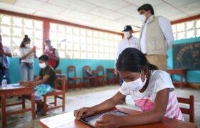 Ministerio de Educación: Es necesario que niños y adolescentes retornen a las aulas