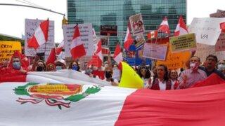 Estados Unidos: Peruanos denuncian supuesto fraude electoral ante la ONU