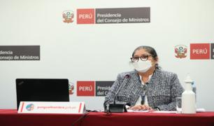 Gobierno exhorta a la población a cumplir los protocolos sanitarios y a no bajar la guardia