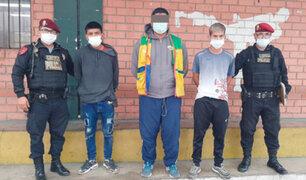 SJL: capturan sujetos que golpearon y arrastraron a una joven para robarle su celular