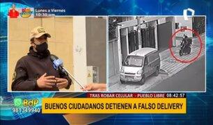 Falsos deliverys roban en Pueblo Libre: alertan que se cambian de ropa y cascos para no ser reconocidos