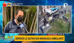 Municipalidad de Jesús María responde sobre presunto abuso de autoridad contra comerciante