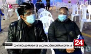 Cercado de Lima: vacunatorio contra COVID-19 cuenta con cámaras de seguridad