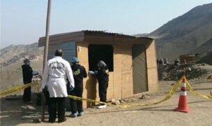 Ancón: hombre es asesinado cuando hacía trabajos de construcción en frontis de su vivienda