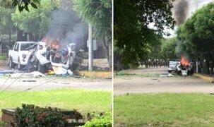 Colombia: explosión de coche bomba en base militar deja al menos 36 heridos