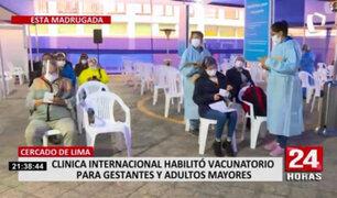 Covid-19: habilitan nuevo vacunatorio en el Cercado de Lima