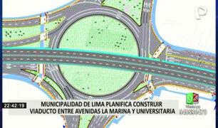 Municipalidad de Lima planifica construir viaducto entre la Marina y Universitaria