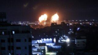 Israel lanzó nuevos ataques aéreos sobre Gaza