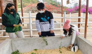 Sé parte del programa de voluntariado del Parque de Las Leyendas