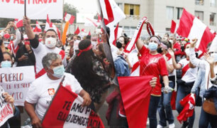 Cercado: simpatizantes vuelven a las calles a marchar a favor de Fuerza Popular
