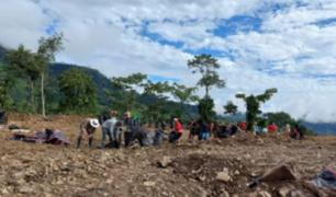 VRAEM: pobladores de San Miguel del Ene participaron en trabajos para instalar base contraterrorista